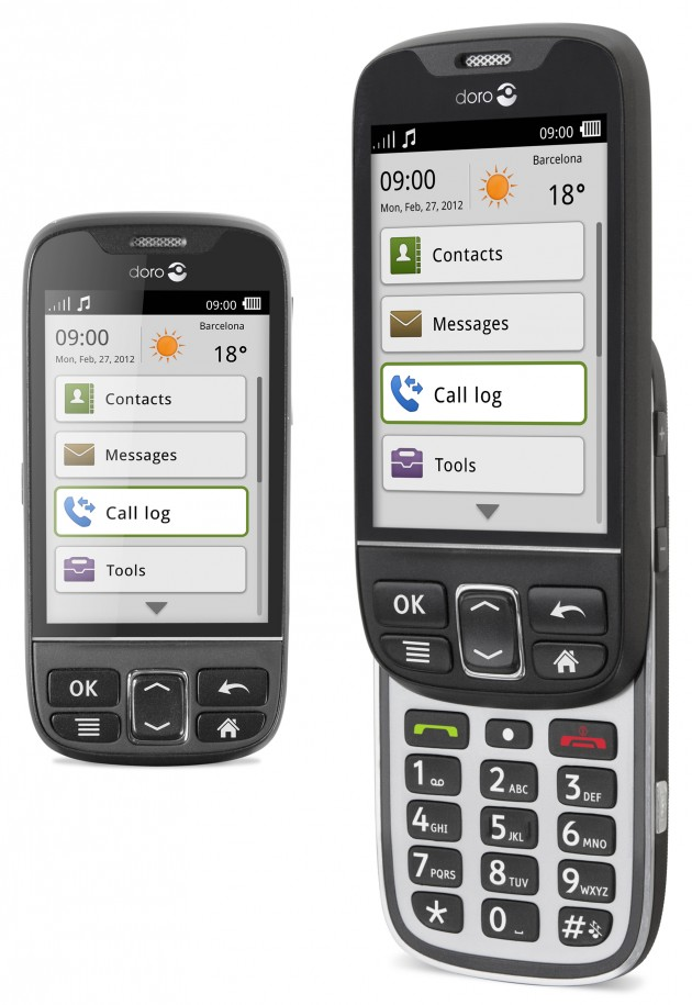 Doro Simplest Android Phone