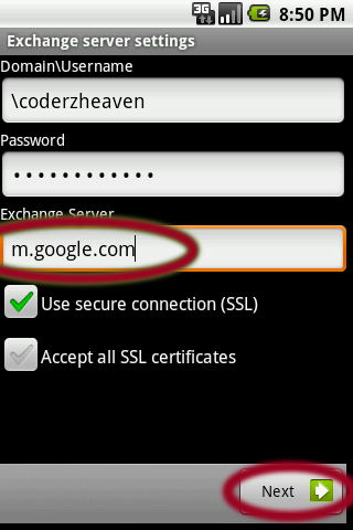 Send Mail in Android Emulator