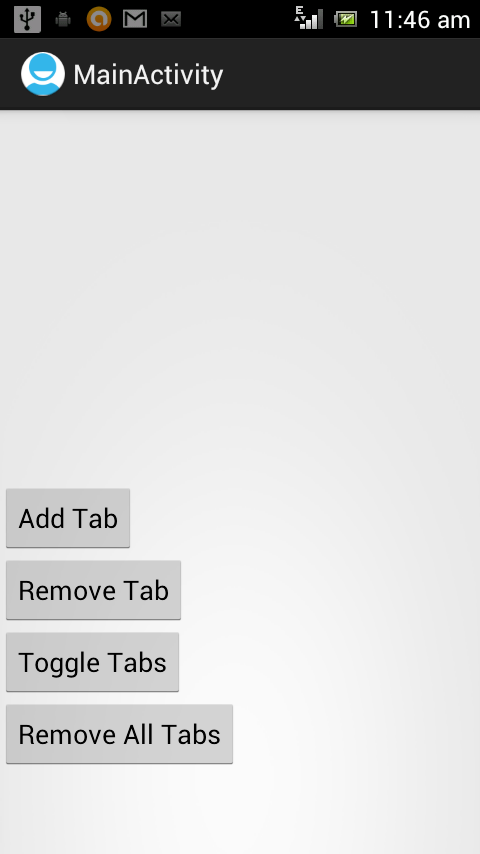 ActionBar Tabs