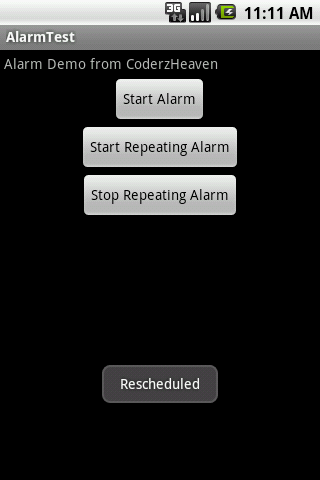 How to setUp a repeating Alarm in Android? – MOBILE PROGRAMMING