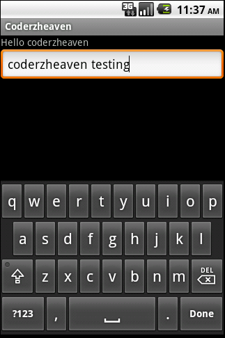 How to listen to the softkeyboard done button in android? – MOBILE