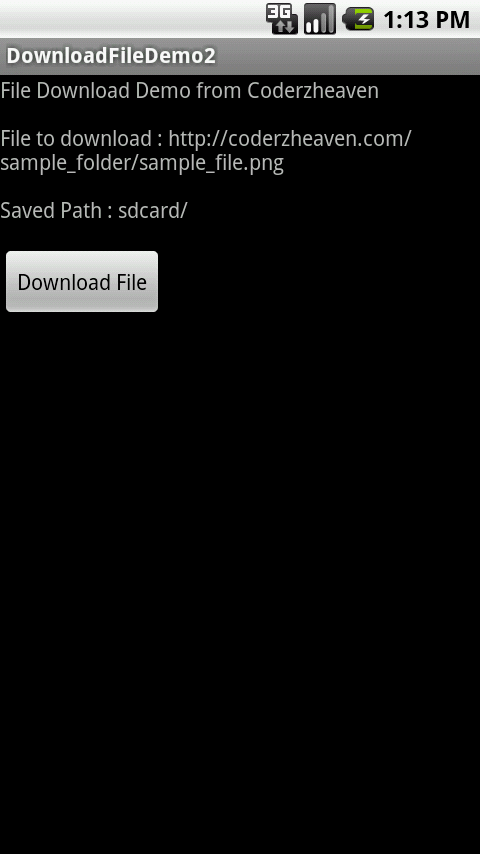 download file android