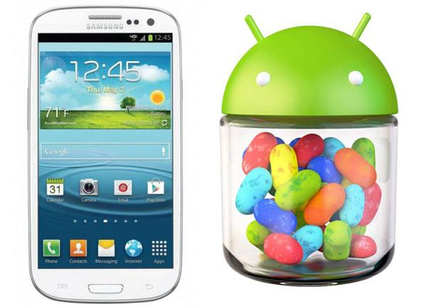 Samsung Galxy S3 gets Android JellyBean Update