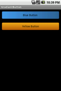 Gradiant Button Demo