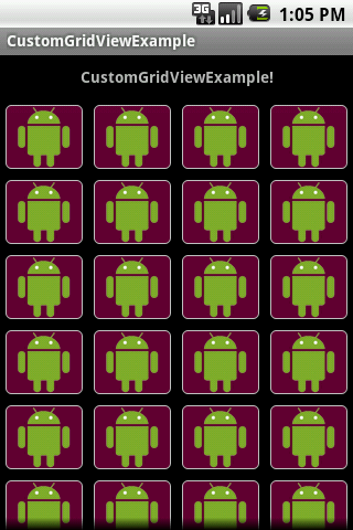 Custom GridView in Android